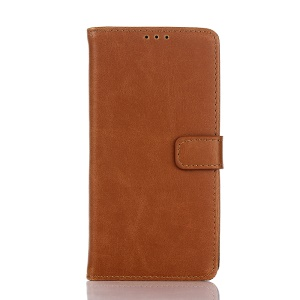 Crazy Horse Retro Faux Leather Protective Case for LG Nexus 5X - Brown
