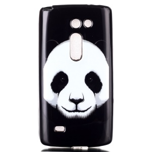 IMD TPU Phone Cover for LG Leon H320 / Leon 4G LTE H340N - Panda Pattern