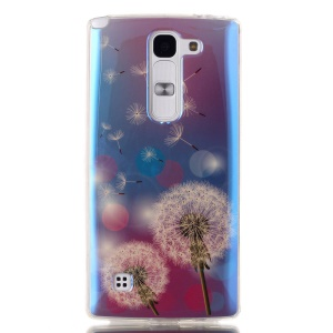 IMD Blue-ray TPU Protective Cover for LG Spirit H422 H440Y H440N H420 - Flying Dandelions