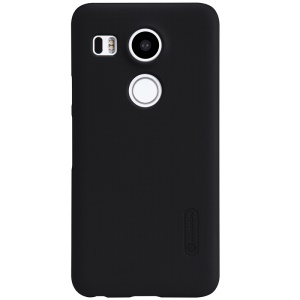 NILLKIN Frosted Shield Hard Case for LG Nexus 5X + Screen Protector - Black