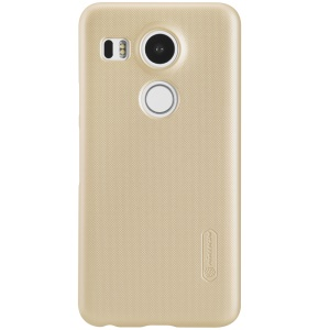 NILLKIN Frosted Shield Plastic Case for LG Nexus 5X - Gold