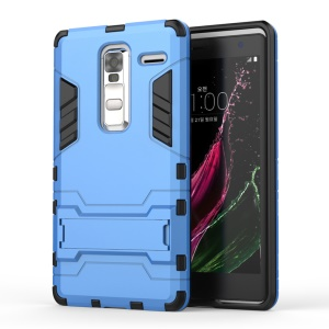 Kickstand PC TPU Combo Case for LG Zero / Class F620 H740 - Baby Blue