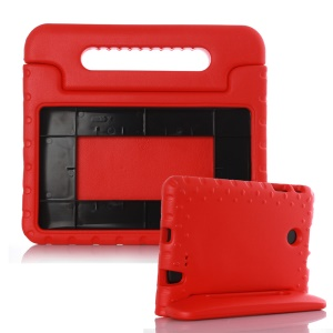 Shockproof Kids EVA Case Handle Stand Cover for LG G Pad F 8.0 V495 - Red