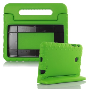 Kiddie Case EVA Foam Cover Handle Stand for LG G Pad F 8.0 V495 - Green