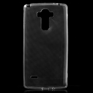 Ultra-thin TPU Protective Case Cover for LG G4 Stylus - Transparent