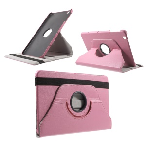 Litchi Rotary Stand Leather Tablet Case for LG G Pad II 10.1 V940 - Pink