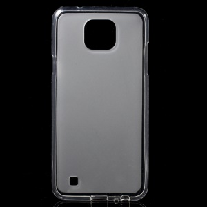 Double-sided Frosted TPU Phone Case for LG X Cam - Transparent