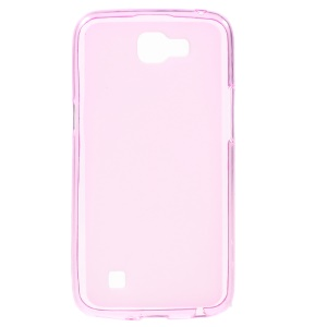 Double-sided Frosted TPU Cover Case for LG K4 - Pink