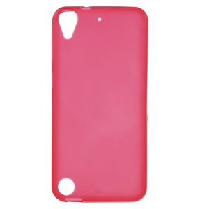 Matte TPU Phone Cover Case for HTC Desire 530 / 630 - Red