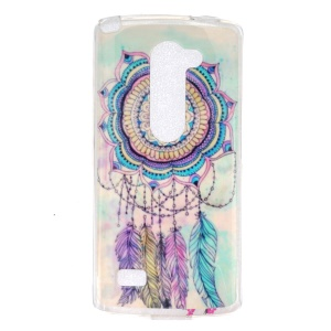 IMD Soft TPU Gel Protective Cover for LG Leon 4G LTE H340N - Dream Catcher