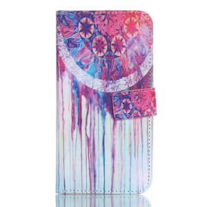 Wallet Leather Cover Case for LG K7 - Dream Catcher