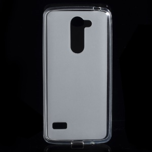 Double-sided Matte TPU Shell Case for LG Ray - White