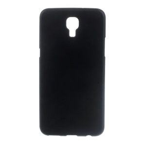 Double-sided Matte TPU Case for LG X Screen - Black