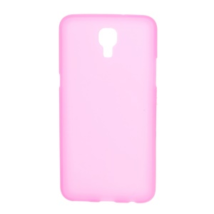 Double-sided Matte TPU Case Shell for LG X Screen - Rose