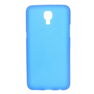 Double-sided Matte TPU Cover for LG X Screen - Blue