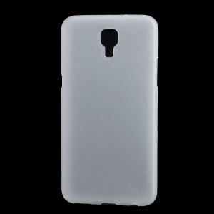 Double-sided Matte TPU Case Cover for LG X Screen - White