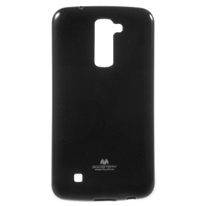 MERCURY GOOSPERY Glitter Powder TPU Gel Case for LG K10 - Black