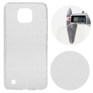 Ultra Slim TPU Shell Case for LG X Cam - Transparent