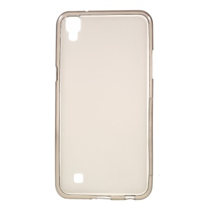 Dual-sided Matte TPU Phone Cover for LG X Power - Grey
