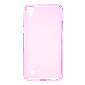 Dual-sided Matte TPU Phone Case for LG X Power - Pink