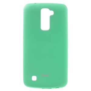 ROAR KOREA All Day Soft TPU Colorful Jelly Cover for LG K10 - Cyan