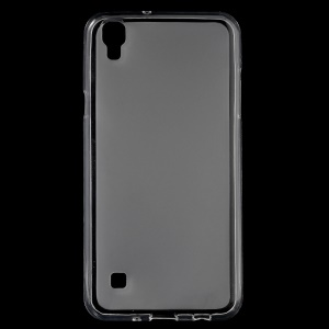 Double-sided Matte TPU Phone Case for LG X Style - Transparent