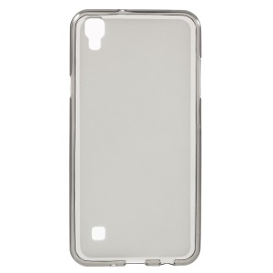 Double-sided Matte TPU Phone Cover for LG X Style - Grey
