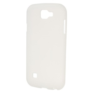Double-sided Frosted TPU Cover for LG K3 - White