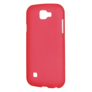 Double-sided Frosted TPU Phone Case for LG K3 (3G) - Red