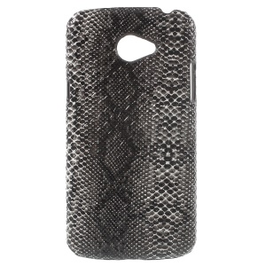 PU Leather Coated Hard PC Phone Case for LG K5 - Snake Texture