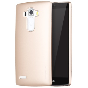 X-LEVEL Rubberized Hard PC Back Cover for LG G4 US991 VS986 H810 LS991 H811 - Gold