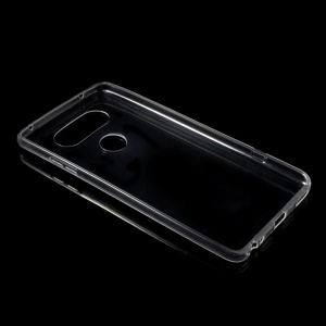 See-through Crystal Clear TPU Gel Case Shell for LG V20