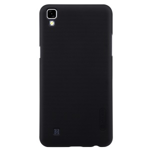 NILLKIN Super Frosted Shield Hard Case for LG X Power K220 + Screen Protector Film - Black