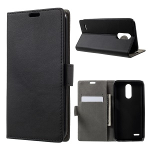 For LG V5 Magnetic Wallet Stand Leather Mobile Phone Case - Black