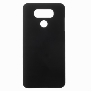 Rubberized PC Hard Phone Case for LG G6 - Black
