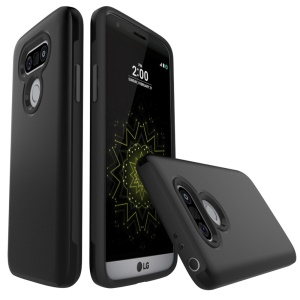 Brushed PC + TPU Two-in-one Back Case for LG G5 / G5 SE - Black