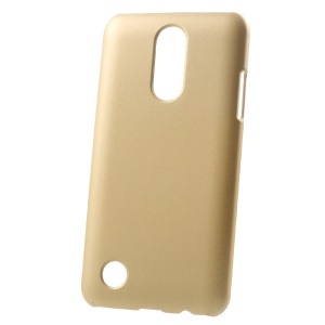 Rubberized Hard Case PC Shell for LG K4 (2017) Dual SIM X230DS - Gold