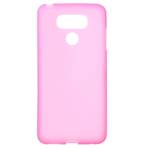 Matte Anti-fingerprint TPU Back Mobile Cover Shell for LG G6 - Rose