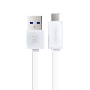 REMAX USB3.0 to USB3.1 Type-C Charging Sync Cable for New MacBook 12-inch Nokia N1 - White