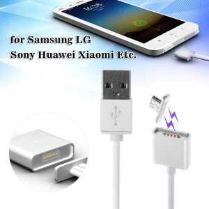 1M Magnetic Micro USB Charging Charger Cable for Samsung LG Sony Huawei Xiaomi Etc.