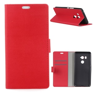 Wallet Leather Magnetic Case for HTC U11 Eyes - Red