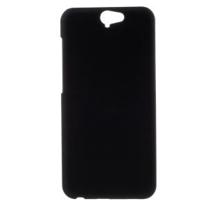 Rubberized Hard PC Case for HTC One A9 - Black