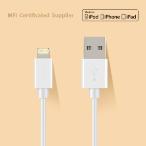 OPSO MFI Certified 1M Lightning 8Pin USB Charging Data Cable for iPhone iPad iPod