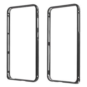 Metal Bumper with Hippocampal Buckle for HTC One A9 - Black