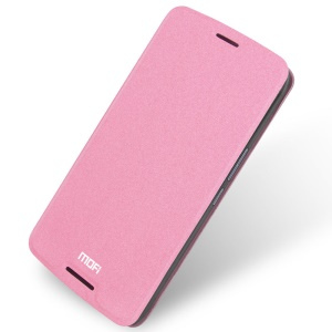 MOFI Rui Series Leather Stand Case for HTC One X9 - Pink