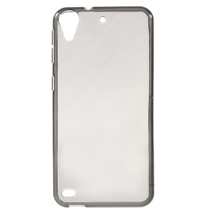 Glossy Slim TPU Phone Case Cover for HTC Desire 630/530 - Grey