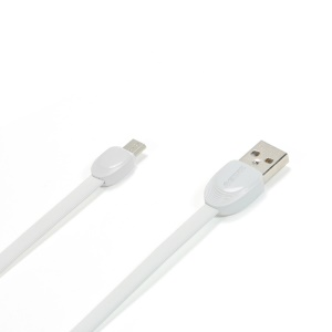 REMAX Shell Cable Micro USB Data Charge Cord for Samsung HTC Xiaomi - White