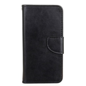 Wallet Leather Protective Case for HTC Desire 530/630 - Black