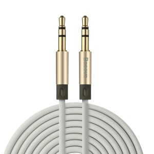 BASEUS 1.2m 3.5mm Cable de audio auxiliar macho a macho - Oro