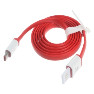 OEM OnePlus 1M Red Type-C to USB 3.1 Data Sync Charging Cable for OnePlus 2